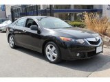 2010 Crystal Black Pearl Acura TSX Sedan #79513132