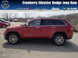 2014 Deep Cherry Red Crystal Pearl Jeep Grand Cherokee Limited 4x4 #79513119