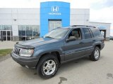 2002 Steel Blue Pearlcoat Jeep Grand Cherokee Sport 4x4 #79513502