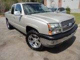 2004 Silver Birch Metallic Chevrolet Silverado 1500 LS Extended Cab 4x4 #79513358