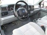 2003 Ford F250 Super Duty XLT SuperCab 4x4 Dark Flint Grey Interior
