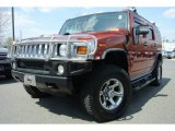 2003 Sunset Orange Metallic Hummer H2 SUV #79569742