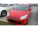2012 Race Red Ford Focus SEL Sedan #79569344
