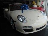 2009 Porsche 911 Cream White