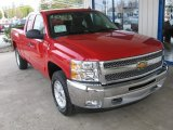 2013 Victory Red Chevrolet Silverado 1500 LT Extended Cab 4x4 #79569966
