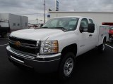 2013 Chevrolet Silverado 3500HD WT Extended Cab 4x4 Utility Data, Info and Specs