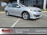 2013 Classic Silver Metallic Toyota Camry SE #79569706