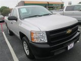 2011 Sheer Silver Metallic Chevrolet Silverado 1500 Regular Cab #79569291