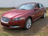2013 Carnelian Red Metallic Jaguar XF 3.0 AWD #79569162