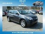 2010 Cyber Gray Metallic Chevrolet Equinox LS AWD #79569834