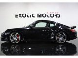 2007 Basalt Black Metallic Porsche 911 Turbo Coupe #79569932