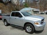 2009 Bright Silver Metallic Dodge Ram 1500 SLT Quad Cab 4x4 #79569930
