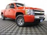 2011 Victory Red Chevrolet Silverado 1500 LS Crew Cab 4x4 #79569684