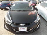 2013 Black Hyundai Elantra Limited #79569259