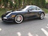 2009 Porsche 911 Midnight Blue Metallic