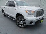 2013 Super White Toyota Tundra Texas Edition CrewMax 4x4 #79569542