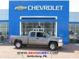 2013 Graystone Metallic Chevrolet Silverado 1500 LT Extended Cab 4x4 #79569670