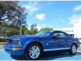 2009 Vista Blue Metallic Ford Mustang V6 Coupe #79569391
