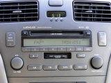 2003 Lexus ES 300 Audio System