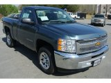 2013 Blue Granite Metallic Chevrolet Silverado 1500 LS Regular Cab #79569797