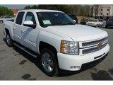 2013 Summit White Chevrolet Silverado 1500 LTZ Crew Cab 4x4 #79569794