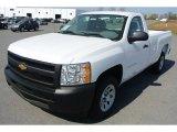 2013 Summit White Chevrolet Silverado 1500 Work Truck Regular Cab #79569786