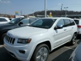 2014 Bright White Jeep Grand Cherokee Overland 4x4 #79569633