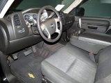 2010 Chevrolet Silverado 1500 LT Crew Cab Ebony Interior