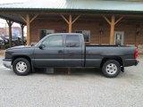 2004 Dark Gray Metallic Chevrolet Silverado 1500 LS Extended Cab #79628423
