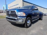 2010 Deep Water Blue Dodge Ram 3500 Big Horn Edition Crew Cab 4x4 Dually #79627760
