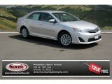 2013 Classic Silver Metallic Toyota Camry Hybrid LE #79627597
