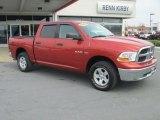 2009 Sunburst Orange Pearl Dodge Ram 1500 ST Crew Cab 4x4 #79628154