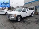2013 Summit White Chevrolet Silverado 1500 LT Extended Cab 4x4 #79627746