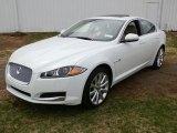 2013 Jaguar XF Polaris White