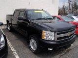 2007 Black Chevrolet Silverado 1500 LT Crew Cab 4x4 #79628393