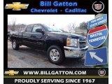 2013 Black Chevrolet Silverado 1500 LT Extended Cab 4x4 #79628294