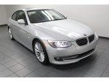 2011 Titanium Silver Metallic BMW 3 Series 335i Coupe #79628149