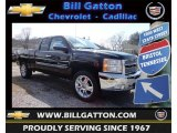 2013 Black Chevrolet Silverado 1500 LT Extended Cab 4x4 #79628291