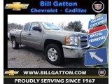 2013 Graystone Metallic Chevrolet Silverado 1500 LT Extended Cab 4x4 #79628290