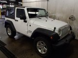 2012 Bright White Jeep Wrangler Sport 4x4 #79628357