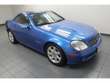 2001 Mercedes-Benz SLK Sapphire Blue Metallic
