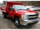 2008 Chevrolet Silverado 3500HD LT Regular Cab 4x4 Dump Truck Data, Info and Specs