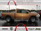 2011 Saddle Brown Pearl Dodge Ram 1500 Big Horn Quad Cab 4x4 #79627728