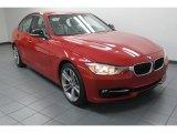 2012 Melbourne Red Metallic BMW 3 Series 328i Sedan #79628142