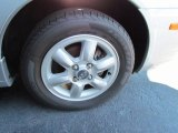Hyundai Accent 2005 Wheels and Tires
