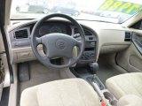 2003 Hyundai Elantra GLS Sedan Beige Interior