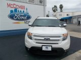 2013 White Platinum Tri-Coat Ford Explorer Limited #79627826