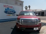 2013 Ruby Red Metallic Ford F150 Platinum SuperCrew 4x4 #79627820