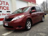 2011 Salsa Red Pearl Toyota Sienna LE #79628246