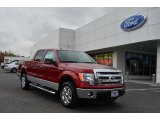 2013 Ruby Red Metallic Ford F150 XLT SuperCrew #79627929